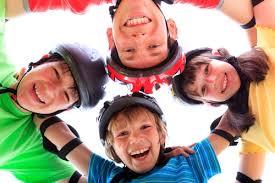 bike helmets on kids